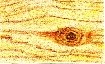Playing with Colored Pencils: Woodgrain | See. Draw. Share.