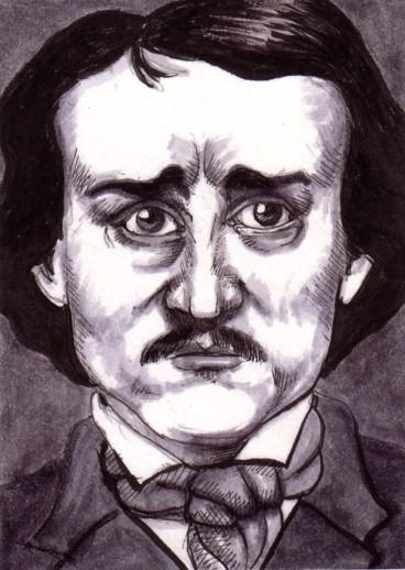 Poe Caricature