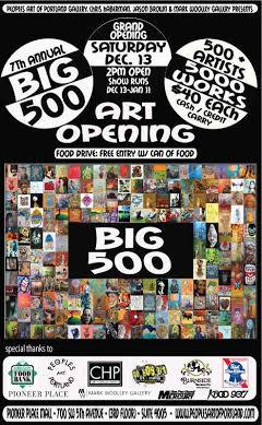 Big 500 Poster