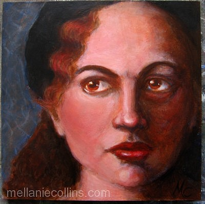 Acrylic Painting:  Wistful w/ ProcessPics