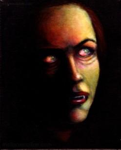 """8""""x 10"""" acrylic on canvas by Mellanie Collins"""
